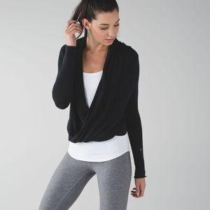 Lululemon Iconic Wrap Sweater top pullover sz2